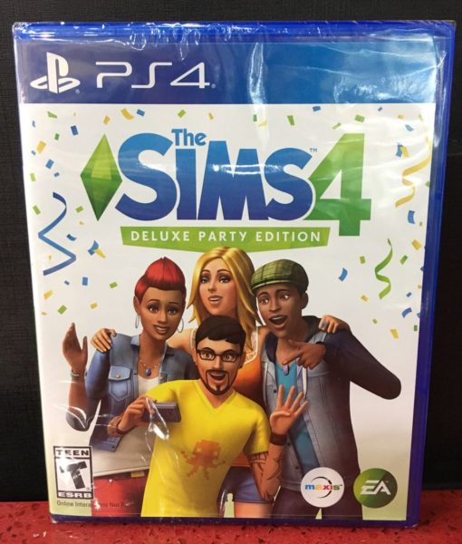 PS4 The Sims 4 Deluxe Party game