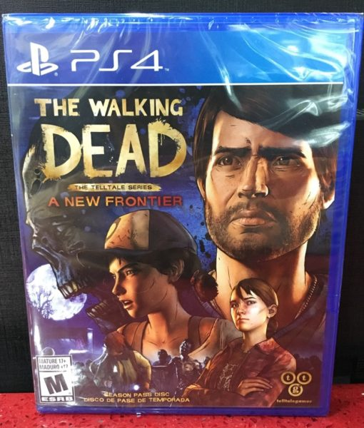 PS4 The Walking Dead A New Frontier game