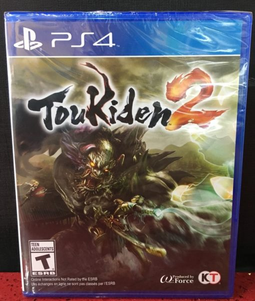 PS4 Toukiden 2 game