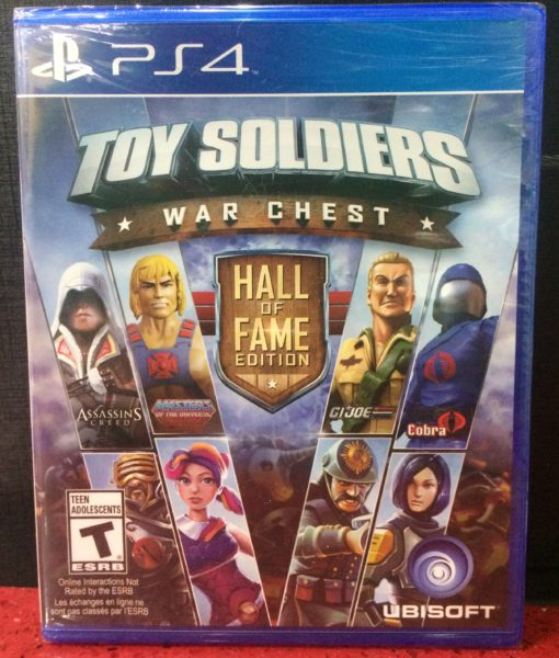PS4 Toy Soldiers War Chest game