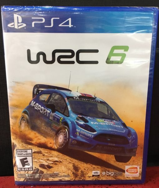 PS4 WRC 6 Rally game