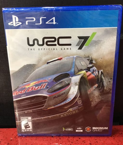 PS4 WRC 7 Rally game