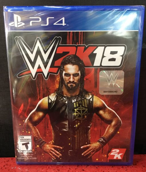 PS4 WWE 2K18 game