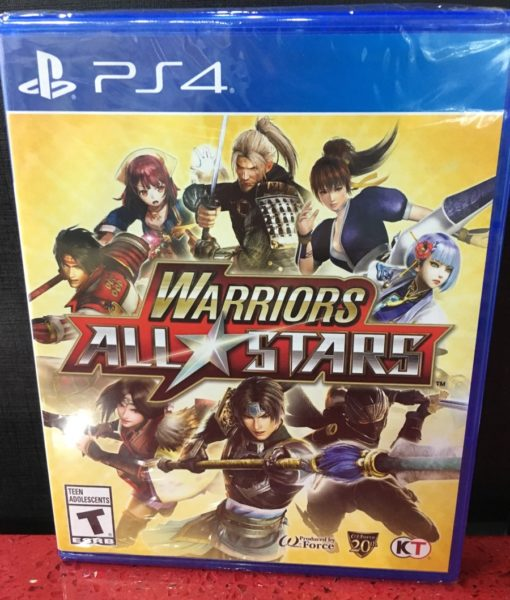 PS4 Warriors All Stars game