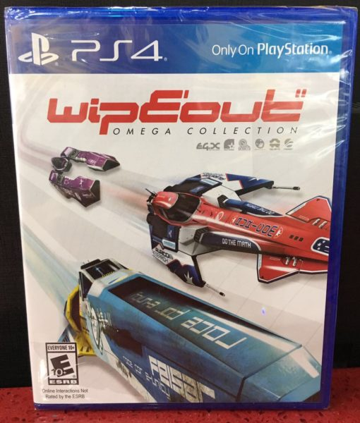 PS4 Wipeout Omega Collection game