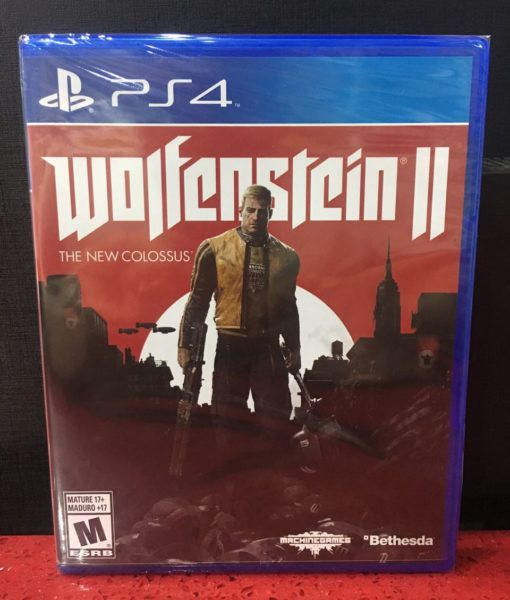PS4 Wolfenstein II The New Colossus game