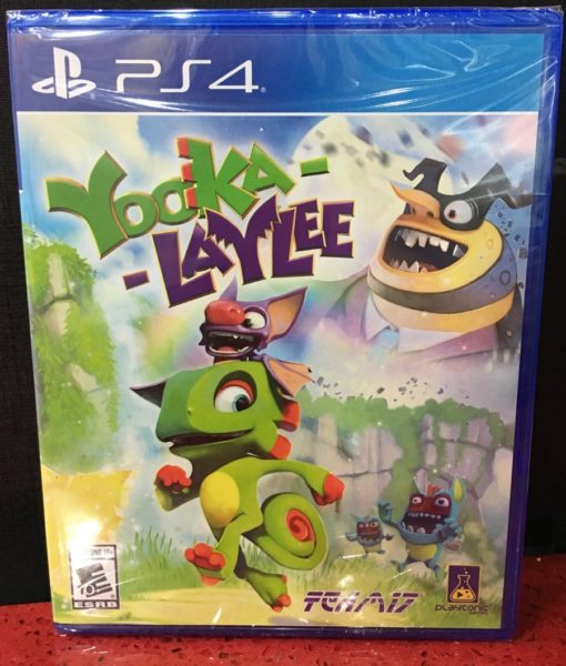 PS4 Yooka Laylee game
