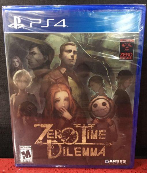 PS4 Zero Time Dilema game