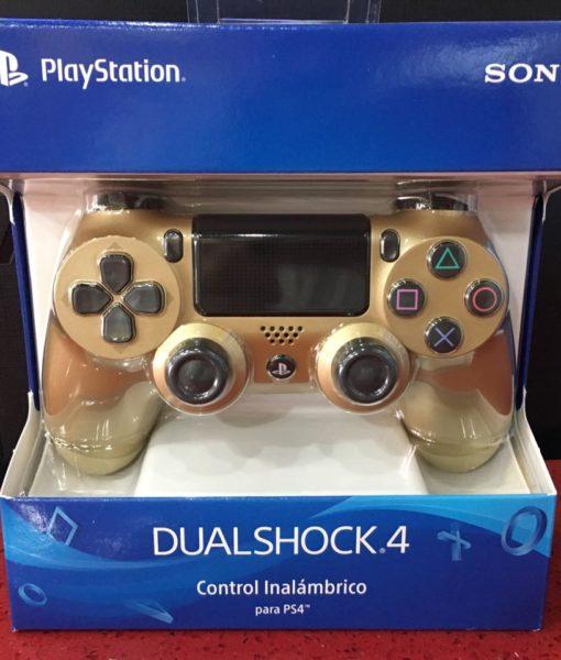 PS4 item Dualshock 4 controller DORADO Sony