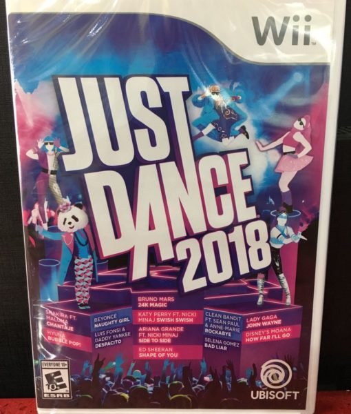 Wii Just Dance 2018 game