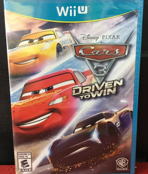 Wii U CARS 3 Drive to Win game