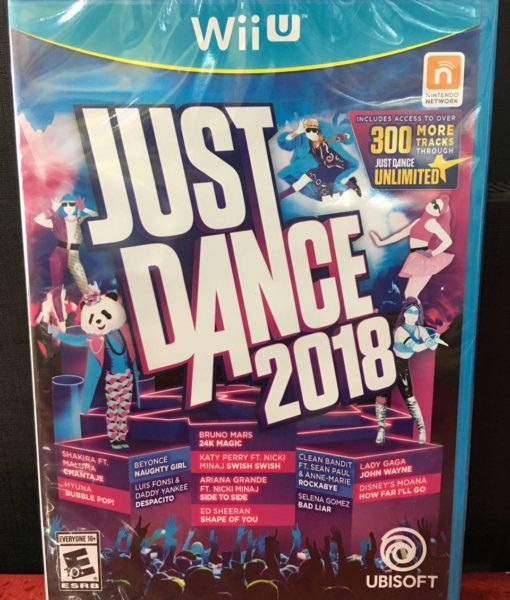Wii U Just Dance 2018 game