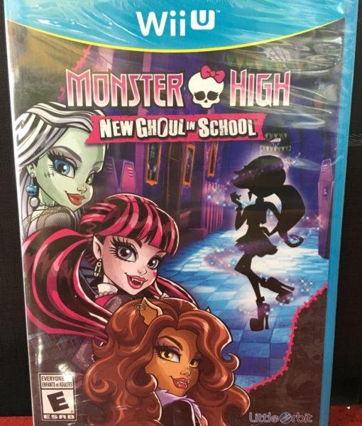 Wii U Monster High New Ghoul in School game