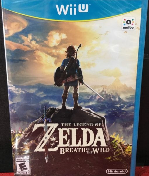 Wii U Zelda Breath of The Wild game