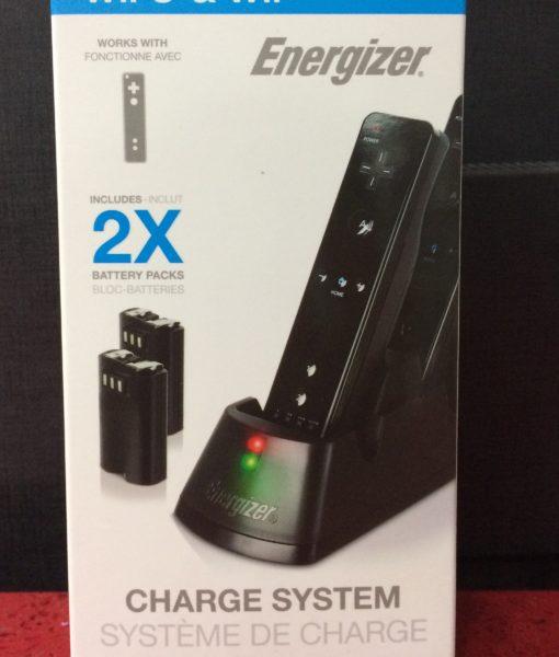Wii U item Cargador Energizer System 2X Bat
