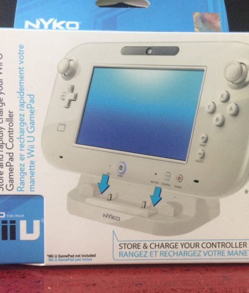 Wii U item Estante para Gamepad Blanco Nyko