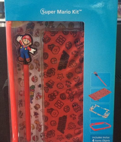 Wii U item Super Mario Kit para GamePad PowerA
