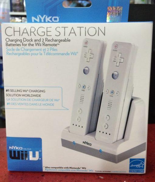 Wii U item Wii item Charge Station Blanco NYKO