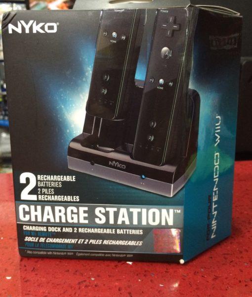 Wii U item Wii item Charge Station NEGRO NYKO