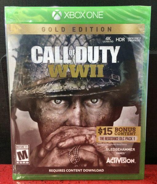 Xone Call of Duty WW II Gold game