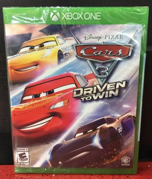 Xone Cars 3 Driven to Win game