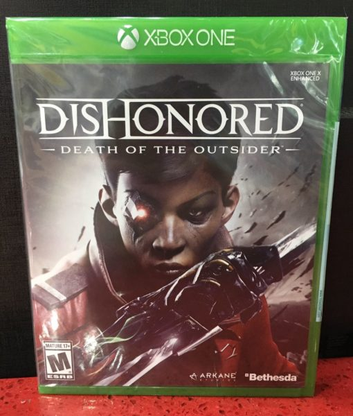 Xone Dishonored Death of The Ousider game