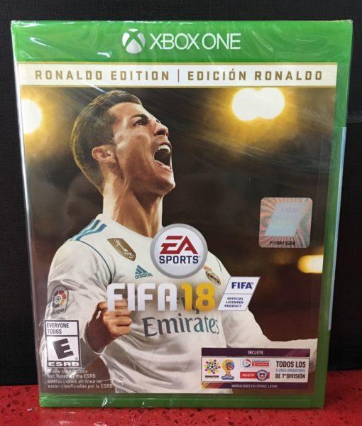 Xone FIFA 18 Ronaldo Edition game
