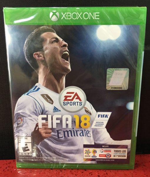 Xone FIFA 18 game