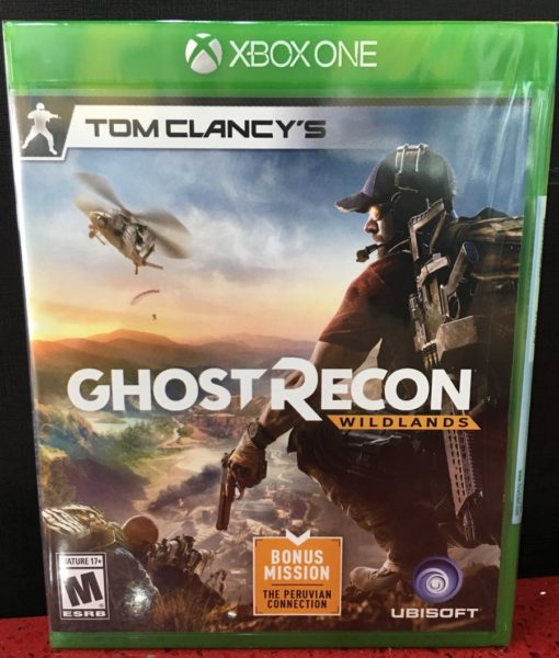 Xone Ghost Recon Wildlands game
