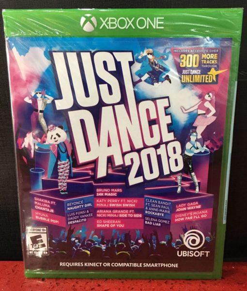 Xone Just Dance 2018 game