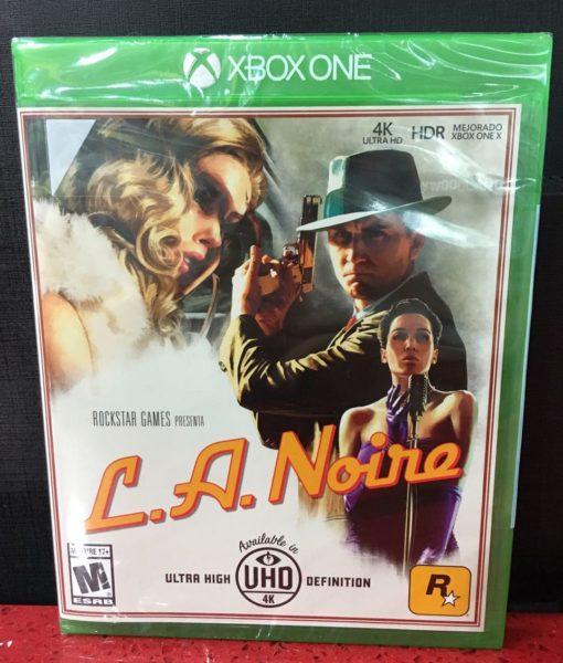 Xone LA Noire game