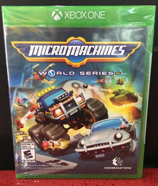 Xone Micromachines World Series game