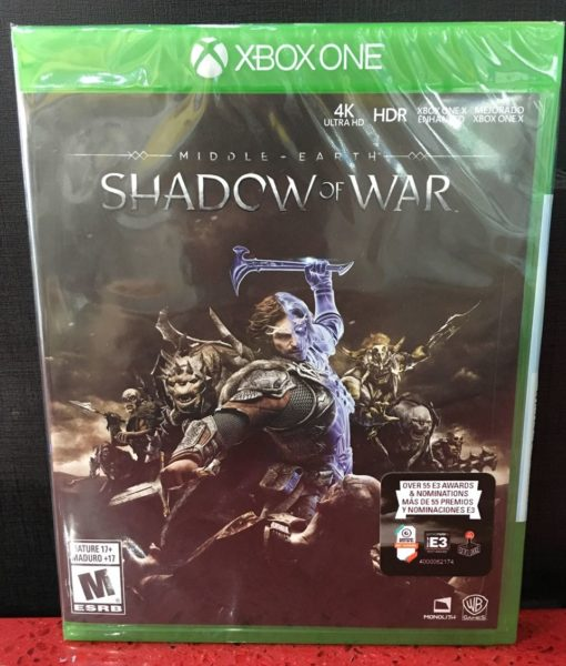 Xone Middle Earth Shadow of War game
