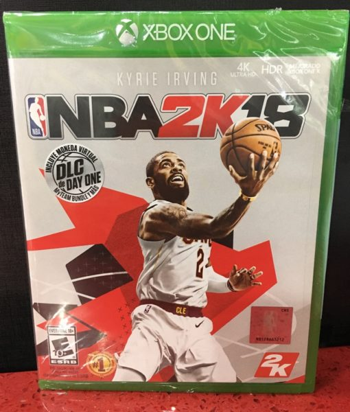 Xone NBA 2K18 game