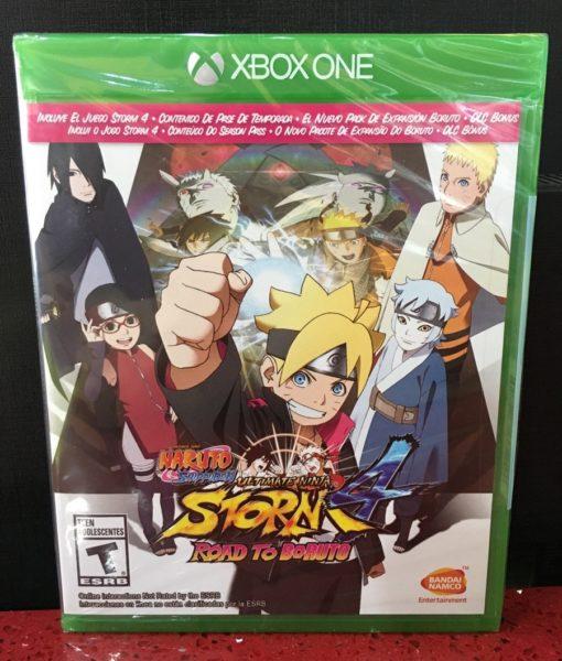 Xone Naruto Ninja Storm 4 Boruto game