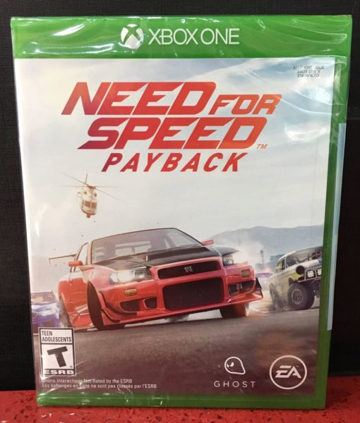 Xone Need for Speed Payback game