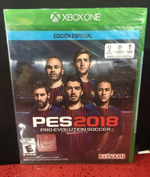 Xone PES 2018 game