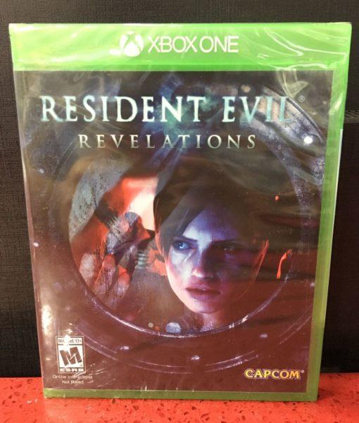 Xone Resident Evil Revelations game