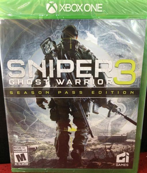 Xone Sniper Ghost Warrior 3 game
