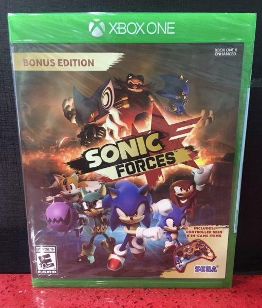Xone Sonic Forces game