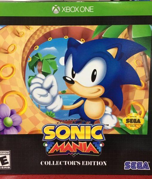 Xone Sonic Mania Collectors Edition game