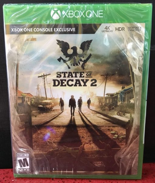 Xone State of Decay 2 game