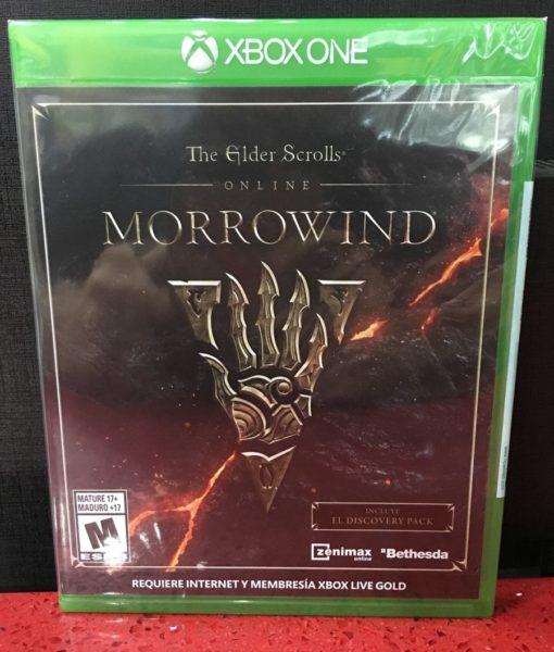 Xone The Elder Scrolls Online Morrowind game