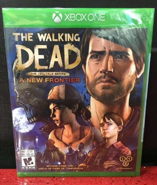 Xone The Walking Dead A New Frontier game