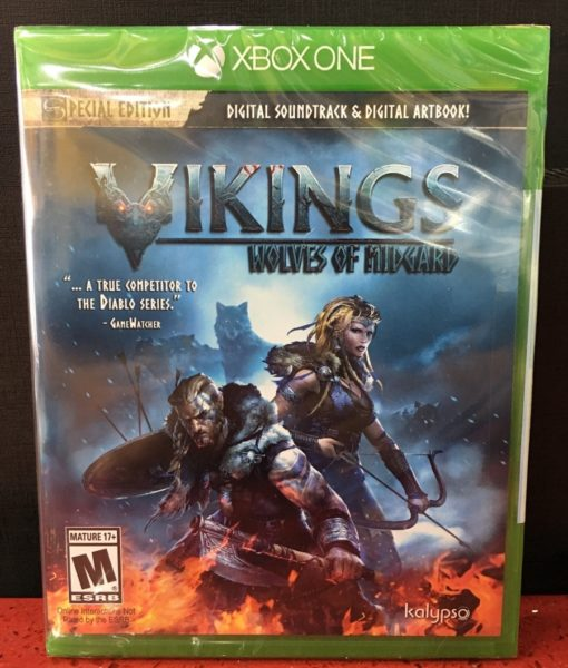 Xone Vikings Wolves of Midgard game