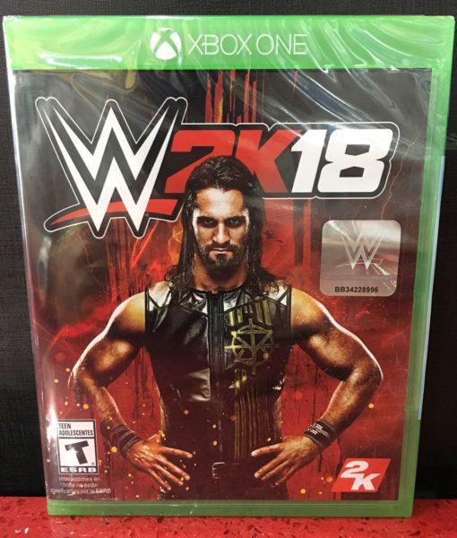 Xone WWE 2K18 game