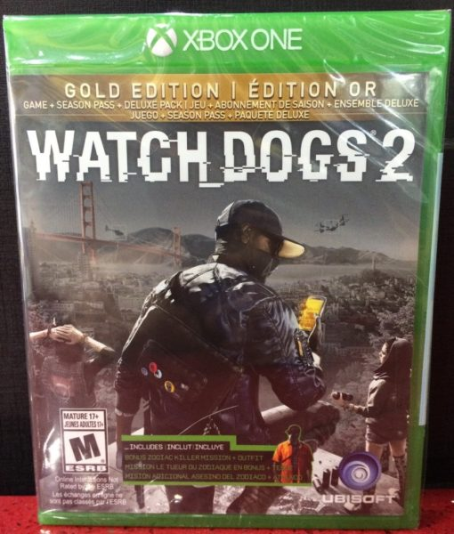 Xone Watchdogs 2 Gold game