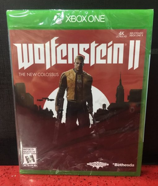 Xone Wolfenstein II The New Colossus game