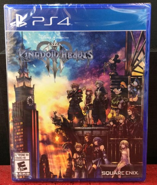 PS4 Kingdom Hearts III game