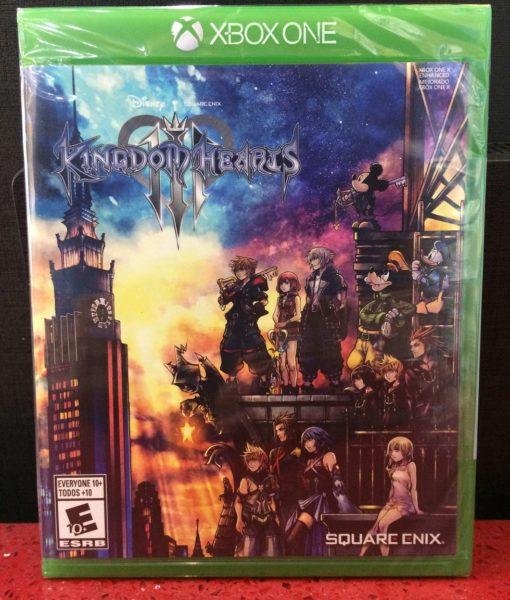 Xone Kingdom Hearts III game